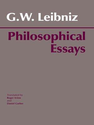 cover image of Leibniz