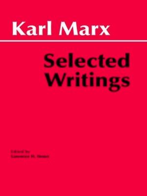 cover image of Marx