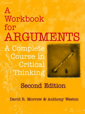 cover image of A Workbook for Arguments