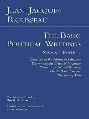 cover image of Rousseau