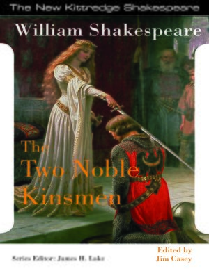 cover image of The Two Noble Kinsmen