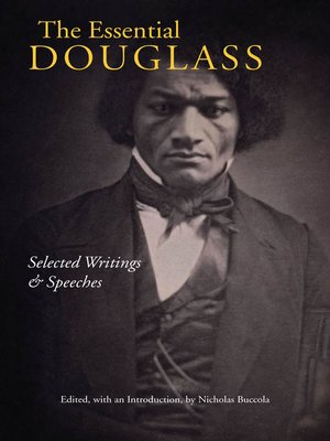 cover image of The Essential Douglass