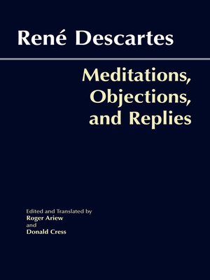 cover image of Meditations, Objections, and Replies
