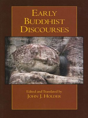 cover image of Early Buddhist Discourses