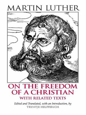 cover image of On the Freedom of a Christian