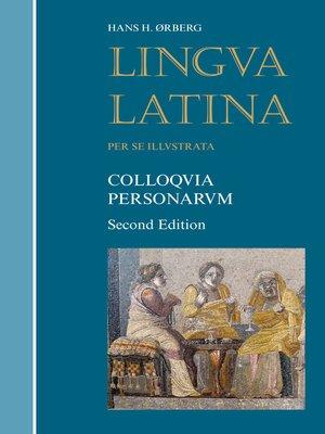 cover image of Colloquia Personarum