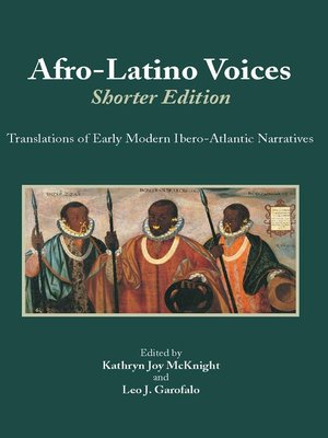 cover image of Afro-Latino Voices