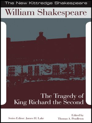 cover image of The Tragedy of King Richard the Second