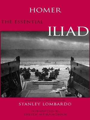cover image of The Essential Iliad