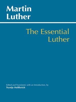 cover image of The Essential Luther