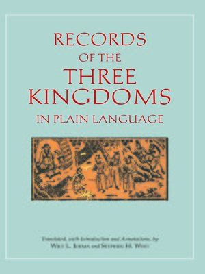 cover image of Records of the Three Kingdoms in Plain Language