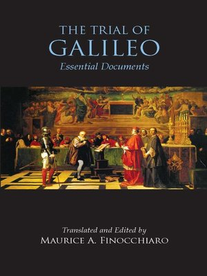 cover image of The Trial of Galileo
