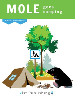 cover image of Mole Goes Camping