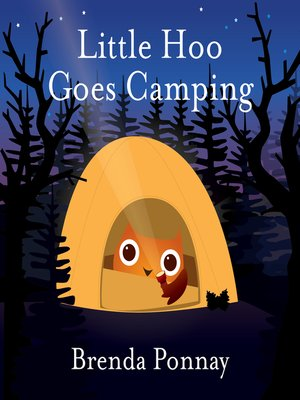 cover image of Little Hoo Goes Camping