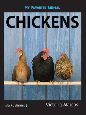 cover image of My Favorite Animal: Chickens