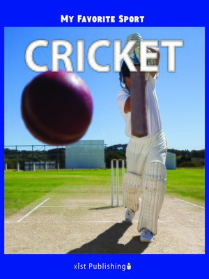 cover image of My Favorite Sport: Cricket