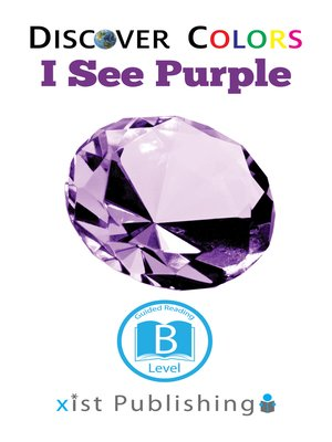 cover image of I See Purple