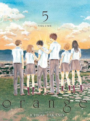 cover image of orange, Volume 5
