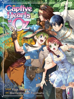 cover image of Captive Hearts of Oz, Volume 1
