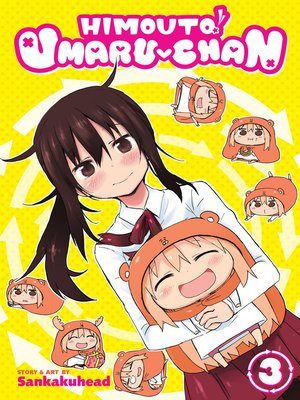 cover image of Himouto! Umaru-chan, Volume 3