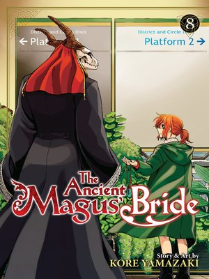 cover image of The Ancient Magus' Bride, Volume 8