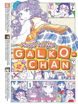 cover image of Please Tell Me! Galko-chan, Volume 2