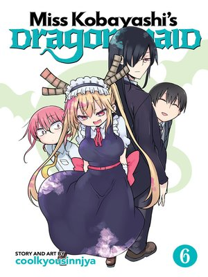 cover image of Miss Kobayashi's Dragon Maid, Volume 6