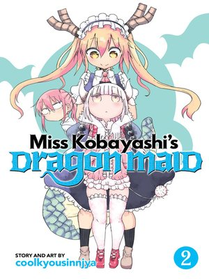 cover image of Miss Kobayashi's Dragon Maid, Volume 2