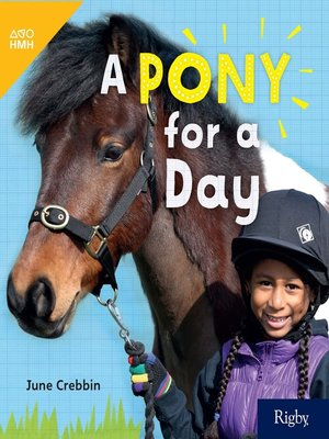 cover image of A Pony for a Day