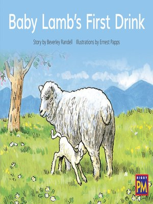 cover image of Baby Lamb's First Drink