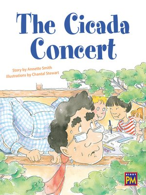 cover image of The Cicada Concert