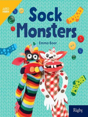 cover image of Sock Monsters