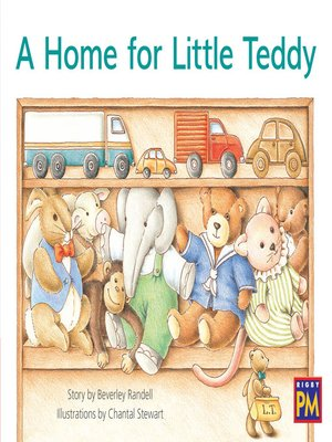 cover image of A Home for Little Teddy