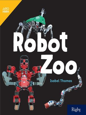 cover image of Robot Zoo