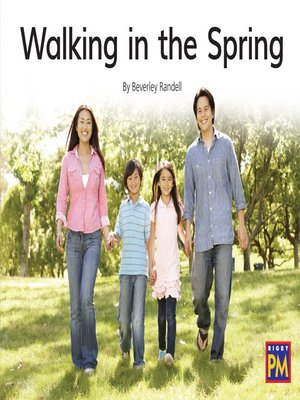 cover image of Walking in the Spring