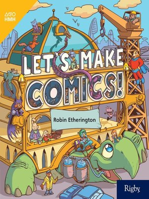 cover image of Let's Make Comics!