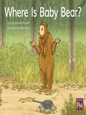 cover image of Where Is Baby Bear?
