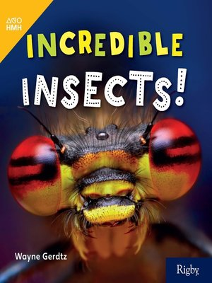 cover image of Incredible Insects