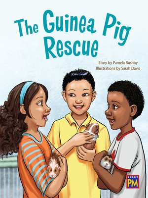 cover image of The Guinea Pig Rescue