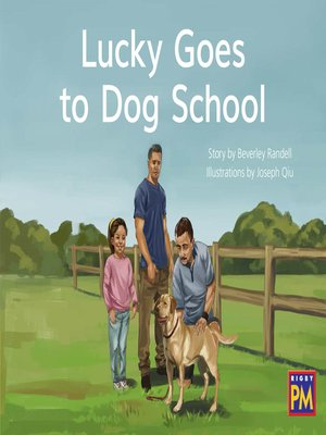 cover image of Lucky Goes to Dog School