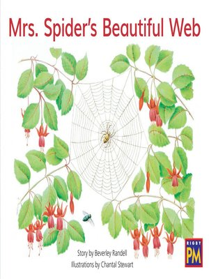 cover image of Mrs. Spider's Beautiful Web