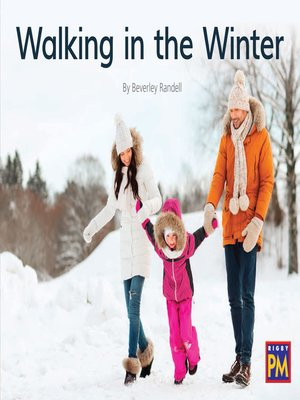cover image of Walking in the Winter