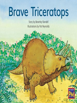 cover image of Brave Triceratops