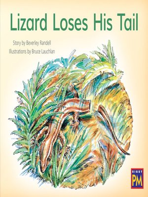 cover image of Lizard Loses His Tail