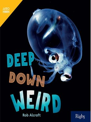 cover image of Deep Down Weird