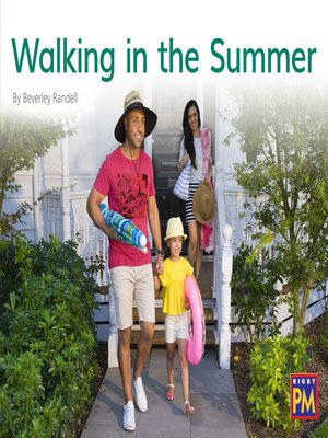 cover image of Walking in the Summer