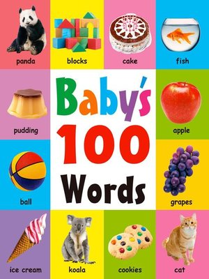 cover image of baby's 100 words