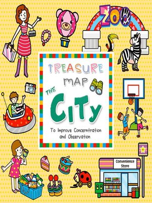 cover image of TREASURE MAP THE CITY
