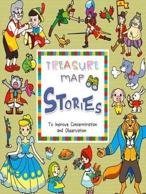 cover image of TREASURE MAP STORIES