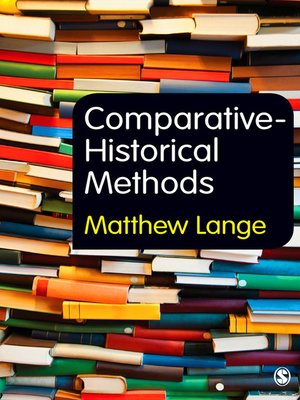 cover image of Comparative-Historical Methods